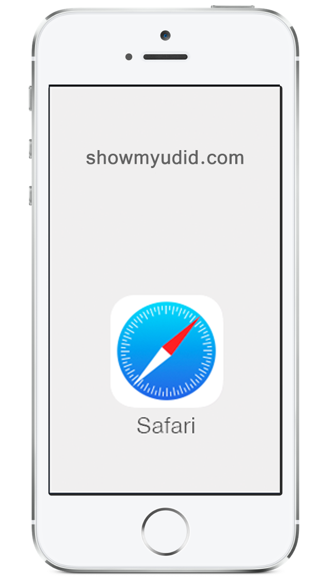 Safari on iPhone or iPad to get UDID
